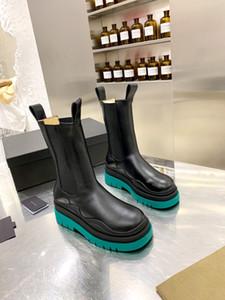 Bottes de tube de fumée de fumée de haute qualité de style original 2020 NOUVEAU Vert Green Femmes Femmes Girl Plate-forme Chaussures de démarrage