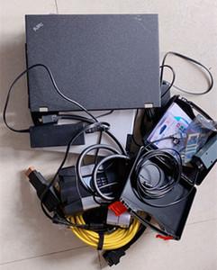 Для BMW ICOM Next 5054A Bluetooth OKI ODIS Software 2in1 HDD с ноутбуком X200T Диагностический инструмент готов к использованию
