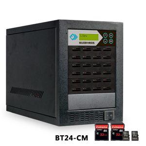 8 ports / 16PR TF + carte SD Duplicateur Copie haute vitesse, comparaison de données, formatée, copie cryptée)