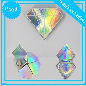 10pcs lot wholesale false eyelashes packaging box fake 3d mink lashes boxes faux cils strip diamond magnetic case empty