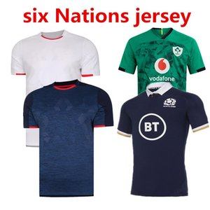 2020 2021 six Nations Italy Scotland Ireland Rugby jersey HOME away Shirts IRELAND ITALY Rugby Jerseys Casual sports Rugby polo