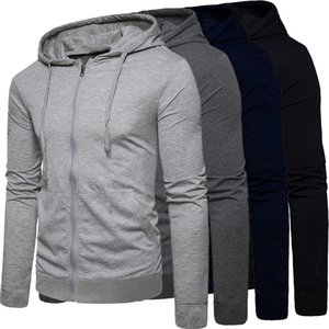 Long Sleeve DIY Hoodies Sweatshirts Plus Size Solid Crop Hoodies For Men Printed Logo Zipper Cardigan Top S-5XL