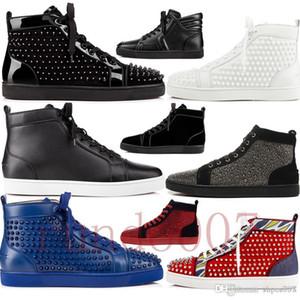 Neueste 2019 Rote Bottom Gz Schuhe 19ss Spike Socke Donna Spikes Bottoms Sneakers Männer Chaussures Heels Herren Frauen Niedrig Top High Boots Designer