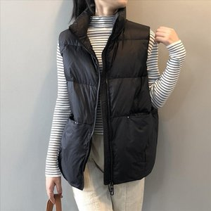 High Quality new fashion Winter Woman Coats Sleeveless Jacket Male Casual Waistcoat Plus Size Drop Shipping