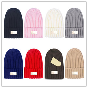 Newest Winter letter u Beanie Knitted Hats Sports Teams Baseball Football Basketball Beanies Caps Women& Men Pom Fashion Winter Top Caps