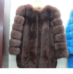 high-quality sheep skin medium and long fur coat , sleeve