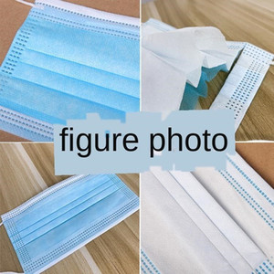 Flat Face Kouzhao Melt Layer Spray Thickened Disposable 3ply Protection Cloth 3 Mask Civil Cabtc