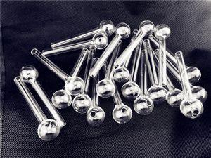 4,8 Inch12cm Clear Pyrex Glass Glass Burner Transparente Burner De Óleo Tubo De Vidro Tubulação De Vidro Tubos De Vidro Tubos De Água