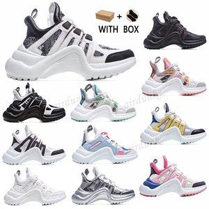 2021 Nova Moda Bloqueio Casual Arquilíbrio Genuino Couro Pai Sapatos Sapatilhas Sapatos Malha Preto Bobejos Respiráveis Plataforma Popular Stylis Sho P3ke #