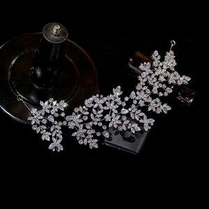 Asnora Luxury Bridal Tiara Alta Calidad Crown King, Crown Wedding, Banda de pelo de desfile de las mujeres, Tiaras de oro y coronas Joyería Y1130