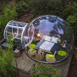 Inflatable Bubble Tent Bubble House Hotel for Human Diameter 3m Clear Factory Wholesale Free Air Pump Free Shipping