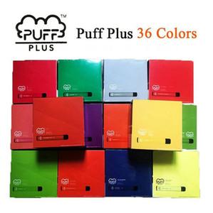 PUFF BAR PLUS 800+Puff Disposable PUFF PLUS Cartridge 550mAh Battery 3.2mL Pre-Filled Vape Pods Stick Style e Cigarettes Portable Vaporizer