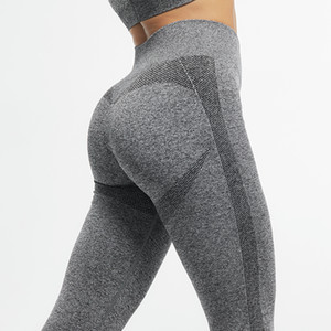 CHRLEISURE Fitness Push Up Women High Waist Active Breathable Leggings Sports Stretch Work Out Legging Q1119