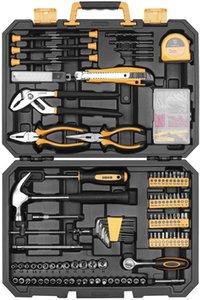 Set di utensili da 196 pezzi Generale Kit attrezzi per la casa con RIP Claw Hammer, Lin