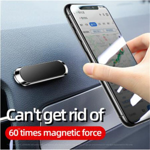 2021 Универсальный Мини Магнитный автомобиль Держатель Телефон Стенд Металлический Магнит Мобильный Телефон Ячейки GPS Стенд Автомобильная Монтажная Стена с розничной упаковкой