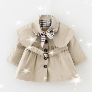 Primavera Autunno Autumn Baby Girls Coattori Bambini Designer Tag Tag Giacca a vento Giacca Giacca Capispalla Baby Girls Bambini Abbigliamento Giacche