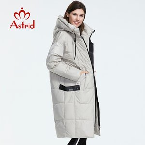 Astrid 2019 Winter new arrival down jacket women loose clothing outerwear quality with a hood fashion style coat AR-7038 Q1119