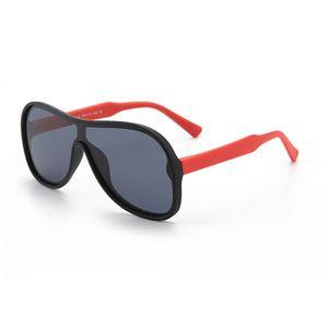 Контрастные солнцезащитные очки Silicone серии Silicone серии детей поляризованные очки для детей унисекс жаба объектива радиационной защиты оттенок очки
