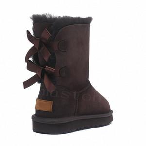 2020 Avustralya Wgg Avustralya Çizmeler Kadın Boot Kar Kış Terlik Botas Australianas Kürk Boot Yeni S9Y4 #