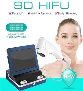 HIFU Ultraschallmaschine 9D-Kopfpatronen für Face Lift-Wandlerkartusche für Home-Nutzung und Salon Fast Freies Verschiffen