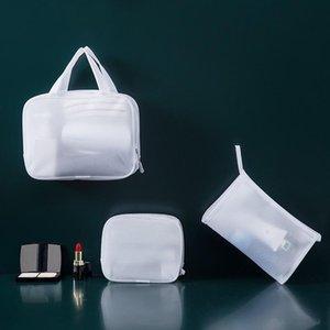 Casual PCS Mesh Beauty Cosmetic Case Travel Bag Makeup EVA Zipper Ladies Transparent 1 Storage Wash Danje