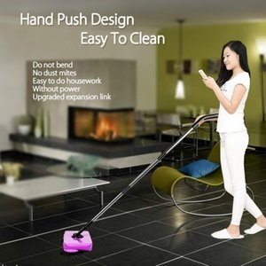 Stainless Steel Sweeping Machine Push Type Hand Push Broom Light Dustpan Handle Household Cleaning Package Hand Sweeper Mop