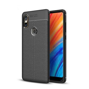 TPU Litchi Skin Phone Case for Xiaomi Mi Mix 2S
