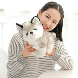 Husky Köpek Peluş Oyuncaklar Dolması Hayvanlar Oyuncaklar Hobiler 7 inç 18 cm Dolması Artı Hayvanlar B11