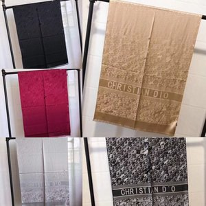 XRXB 180cm*90cm AxlesDigital Print 100Natural Women Luxury Scarf Silk Wraps Shawls and Scarves Visual Y201007