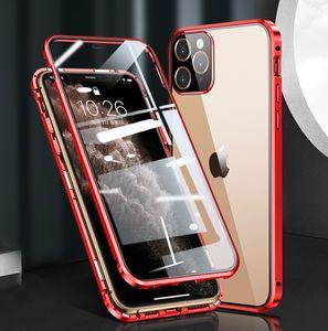IPhone12 Cáscara protectora de teléfono móvil Nuevo Apple 12Promax Imán magnetismo Magnet de doble cara Venta al por mayor Casos de teléfono celular