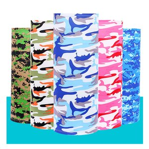 Outdoor Cycling Scarf Bandana Magic Scarves Sunscreen Hair Band Sport Customized Face Neck Men Flag camouflage Scarf