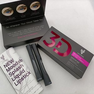 Younique Mascara 3D Fibra di fibra di fibra Mascara Impermeabile doppia fibra 3d ciglia ciglia set di trucco per ciglia Impermeabile lunga durata spedizione gratuita