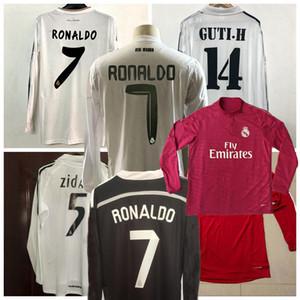 2001 02 03 04 05 06 2010 2011 2012 2013 2013 2013 2011 16 17 Real Madrid Kaka Beckham Raul Zidane с длинным рукавом ретро футбол футбол футбол