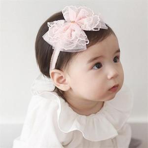 2020 New Kids Head Band Bowknot Newborn Cute Decorative Hair Accessories elastic headwear turban