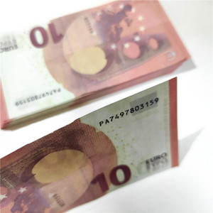 Envío gratis Discoteca y película Prop Money Game Party Play Play Dinero Copia específica 10 Euro Faux Billet 100pcs / Pack 02
