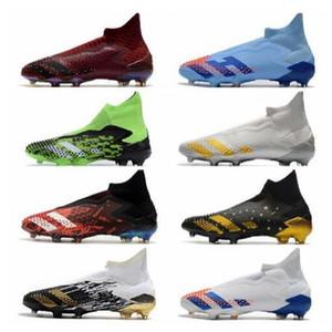 Хищник Mutator 20+ 2020 новый мужской футбольные бутки высокие каблуки Top Messi FG футбольные туфли профессиональные футбольные ботинки Chaussures