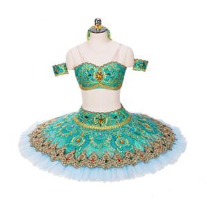 Exquisite girls classical professional ballet pancake tutu