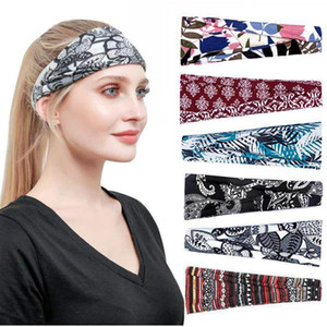 Cotton Women Headpiece Stretch Hot Sale Turban Hair Accessories 1PC Headwear Yoga Run Bandage Hair Bands Headbands Wide Headwrap