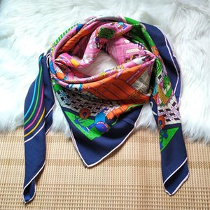 Fashion Prints Wool Blanket Cape Scarf Women Winter Warm Scarves Wraps Shawl