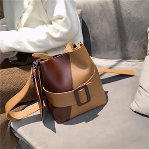 Marca Diseño original Ladies Bolso de hombro 2020 Popular nuevo marea hombro colgado bolsa de cubo