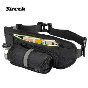 Sireck Gym Bag Women Men Sport Bag Multifunction Running Waist Bag Water Bottle Holder Jogging Belt Fanny Pack Phone Pouch Z1124