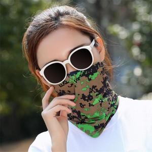 Silk Bandana Riding Scarf Comfortable Soft Nose Mouth Bandanas Hot Sale Dropship Neck Gaiters Men Women Hiking Scarves 2021