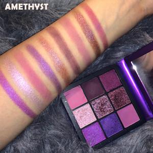 9 Palette Eye Shadow Brighten Colors Diamonds Eyeshadow Powder Makeup Palette TOPAZ Khaki Shimmer Matte RUBY Eye Shadow makeup AMETHYST
