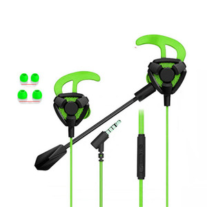 Universal G9 Wired Earphones Gaming Headphones 3.5mm Jack Stereo Headset For PUBG No Delay With Mic For Computer PS4