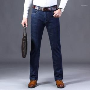 Vomint New Business Business Casual Jeans Jeans Mens Jeans Cotton Stretch Maschio Pant uomo Pantaloni dritti Strappati per uomo1