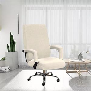 Bez Koltuk Kapakları Set Katı Renk Ofis Bilgisayarları Elastik Sandalye Kol Dayalı Kılıf Ev Anti Kirli Temiz Kapak Sıcak Satış 22SP G2