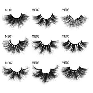 3D Mink Eyelashes Eyelash 3D Eye makeup Mink False lashes Soft Natural Thick Fake Eyelashes Lashes Extension Beauty 20 styles 25mm