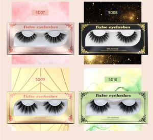 New Arrival 25mm 5D Mink Lashes Real Natural False Eyelashes Wholesale Big Volumn Eye Lashes 3D Luxury Nano Mink Dramatic Lashes Eyelash