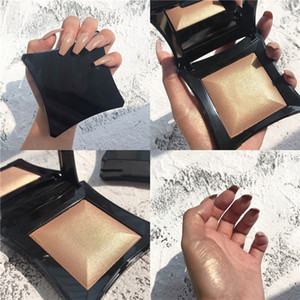 No logo Shimmer Tone Highlighter Face Brighten Glitter Makeup Monochrome Blusher Powder Palette Cosmetic private label