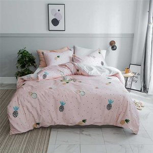 Pastoral Small Floral Bed Linens 100% Cotton Soft Comfortable Bedclothes Guest Room Adults US Twin Bedding Duvet Cover Set